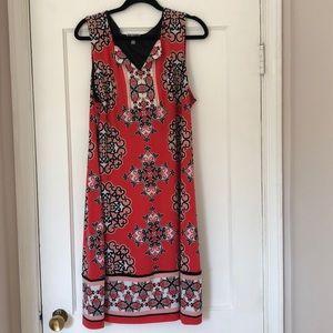 JM Collection Printed Dress